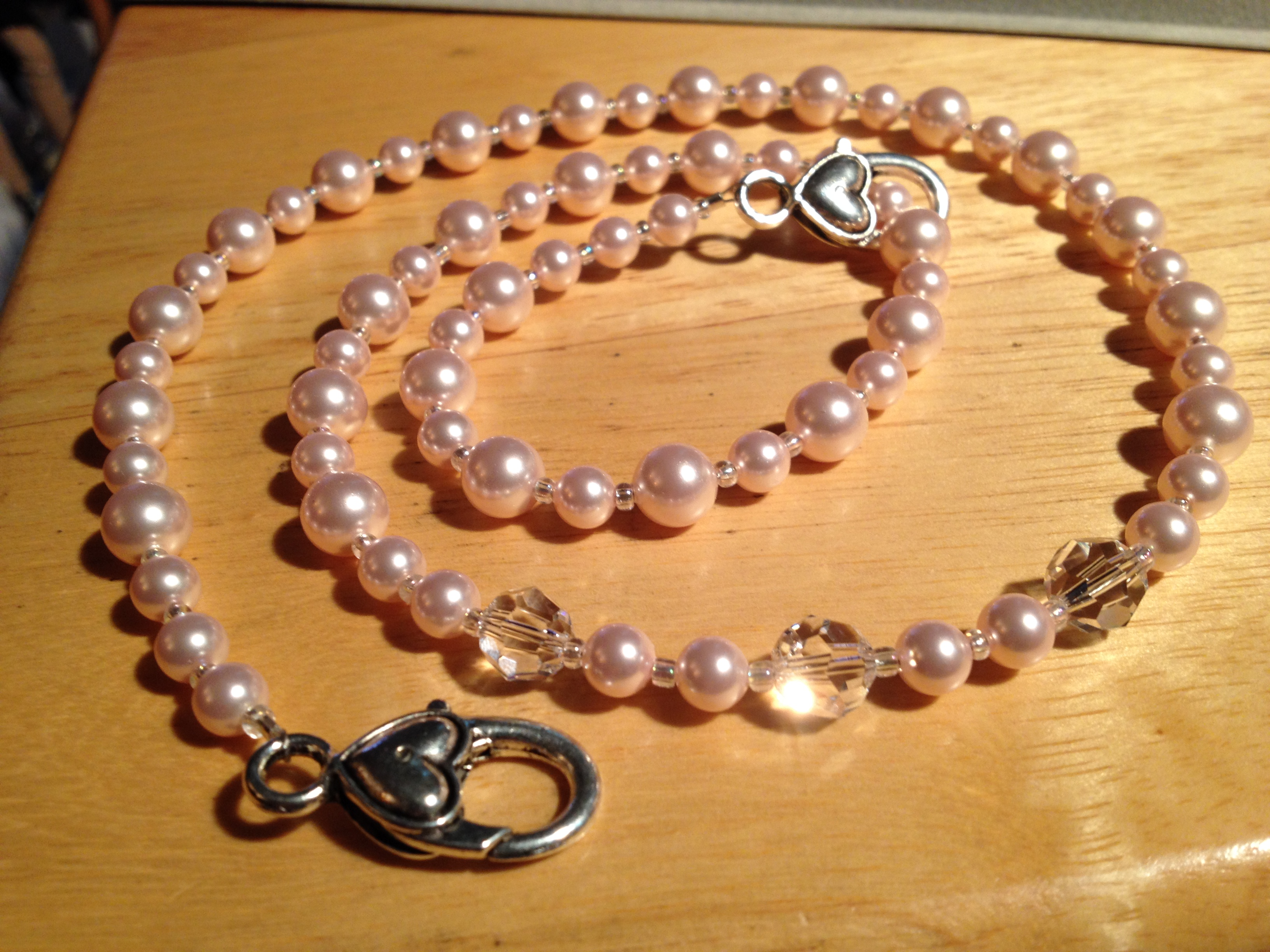 nice pearl jewelry make to diy necklace art watch how youtube beaded beads